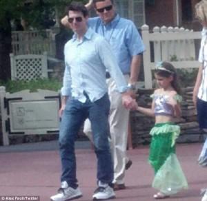 Tom e Suri a Disney World