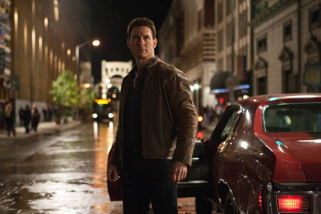 Tom Cruise is Jack Reacher in JACK REACHER, from Paramount Pictures and Skydance Productions.