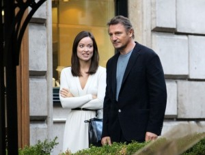 Third Person, Liam Neeson e Olivia Wilde a Roma