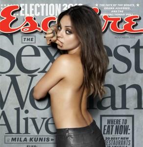 Mila Kunis la più sexy