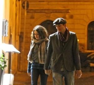 Ashton Kutcher e Mila Kunis a Roma
