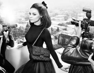 Mila Kunis scaricata da Dior