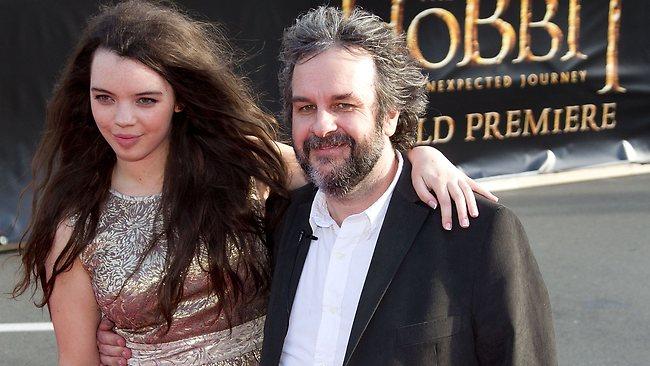 Peter Jackson e sua figlia Katie