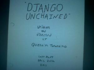Django Unchained, ecco la sceneggiatura