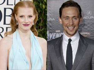 Jessica Chastain e Tom Hiddleston: è nata una coppia!