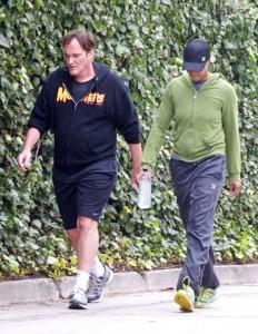 Quentin Tarantino si tiene in forma… O almeno ci prova
