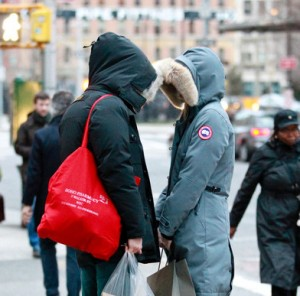 Andrew Garfield ed Emma Stone romantici a New York