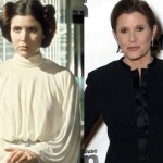 carriefisherthenandnow
