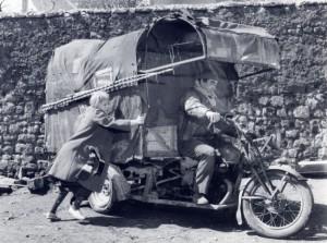 Le moto dei film di Fellini in mostra a Modena