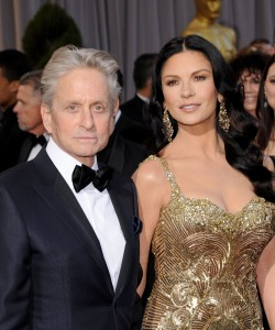 E' finita tra Catherine Zeta-Jones e Michael Douglas