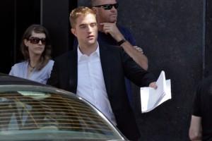 Pattinson, Moore e Wasikowska sul set di Maps To The Stars