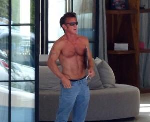 Sean Penn a Ibiza