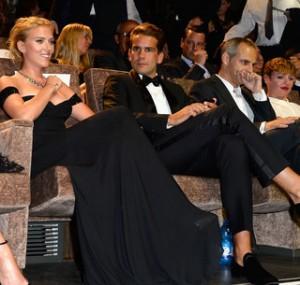 Scarlett Johansson e il suo fidanzato poco elegante