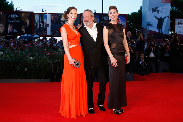 Terry Gilliam con le sue figlie, Ami e Holly
