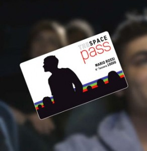 Al via The Space Pass, la card per assidui frequentatori di sale cinematografiche