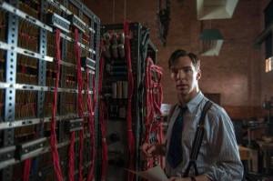 Benedict Cumberbatch nei panni di Alan Turing