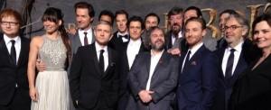 Il red carpet della première de Lo Hobbit – La desolazione di Smaug