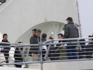George Clooney a Valencia per Tomorrowland