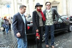 Daryl Hannah e Michael Madsen a Roma