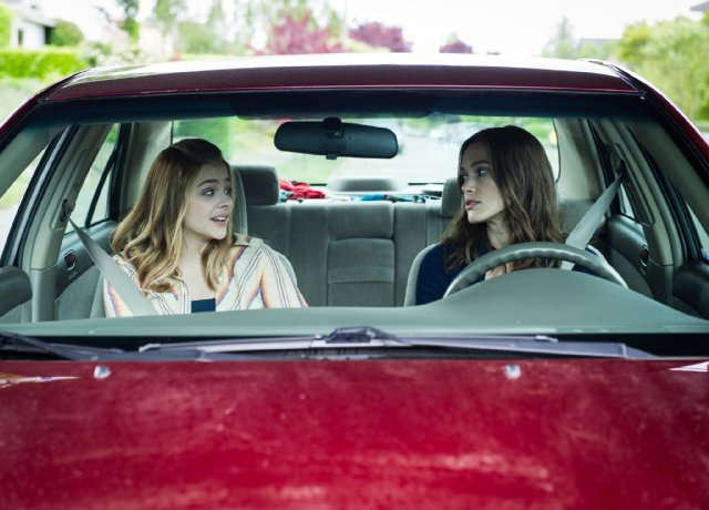 Keira Knightley e Chloë Grace Moretz in Laggies