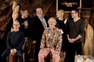 The Monuments Men presentato alla stampa americana. Le foto.
