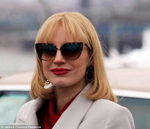 Nuovo look per Jessica Chastain