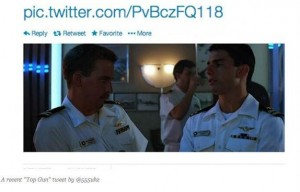 Twitta Top Gun frame by frame, la Paramount lo cerca