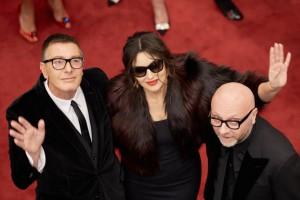 Monica Bellucci a Mosca per Dolce & Gabbana