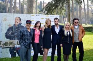 Danny Trejo, Mischa Barton e Michael Madsen a Roma