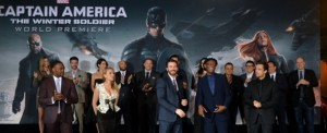 La premiére americana di Captain America: The Winter Soldier