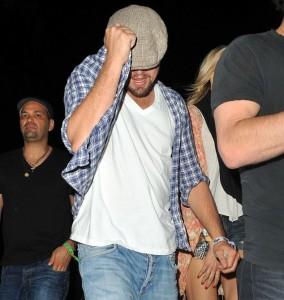 LeonardoDiCaprio scatenato al Coachella Music Festival