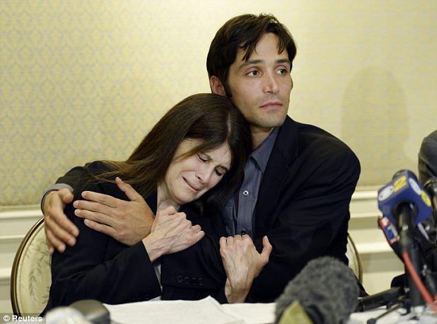 Michael Egan e sua madre Bonnie