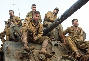 Fury, il trailer del war movie con Brad Pitt