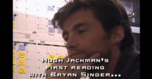 Hugh Jackman nel 1999 al provino per il ruolo di Wolverine