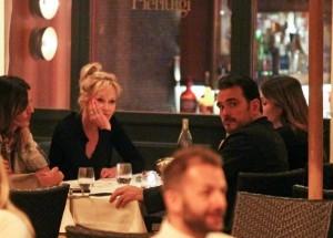 Melanie Griffith e Matt Dillon a cena nel cuore di Roma