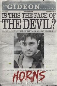 Horns, poster e teaser trailer del film di Alexander Aja con Daniel Radcliffe