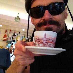 Hugh Jackman in vacanza in Italia