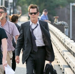 Kevin Bacon sul set di Black Mass