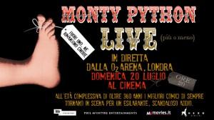 Monty Python Live (più o meno): il 20 luglio nei cinema l'attesa reunion