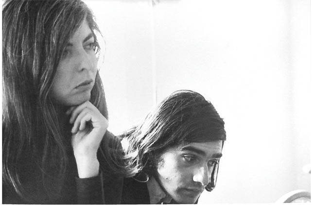 Martin Scorsese e Thelma Schoonmaker nel 1969