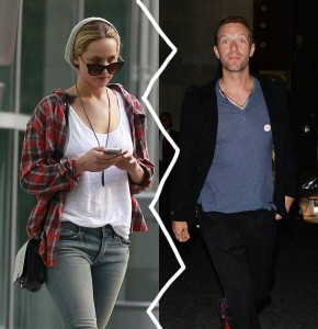 Love story al capolinea per Jennifer Lawrence e Chris Martin
