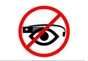 Google Glass banditi dai cinema americani