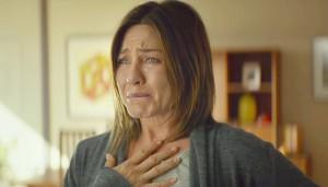 Jennifer Aniston cambia faccia per Cake
