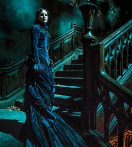 Jessica Chastain in versione gothic nella prima immagine di Crimson Peak