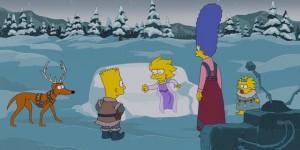 I Simpson parodiano Frozen: Il regno di ghiaccio – Il video