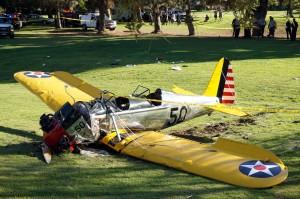 Paura per Harrison Ford, rimasto ferito dopo un incidente aereo