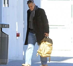 George Clooney al lavoro