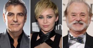 George Clooney, Bill Murray e Miley Cyrus al lavoro con Sofia Coppola