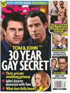 Tom Cruise e John Travolta amanti nei primi anni Ottanta?