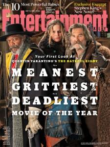 The Hateful Eight, la prima foto sulla cover di Entertainment Weekly